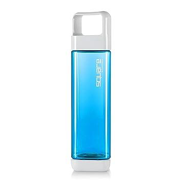 Clean Bottle Square Trinkflasche, 740ml, BPA-frei, blau, von beiden ...