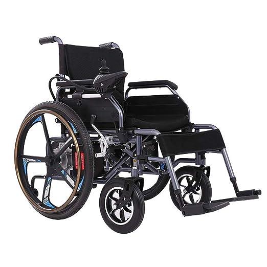 Silla de ruedas eléctrica integrada, ligera, plegable ...