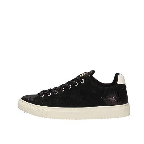 Colmar Bradbury Lux Nero Scarpe Donna Sneakers Lacci camoscio Glitter 37 332cf3c62a9
