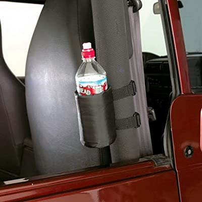 RAMPAGE PRODUCTS 769901 Universal Roll Bar Padded Drink Holder, Pair, Black: Automotive