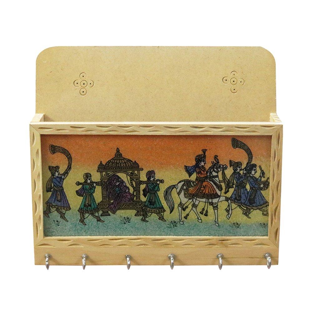 Rajasthani Decor Handicraft Decorative Key Holder