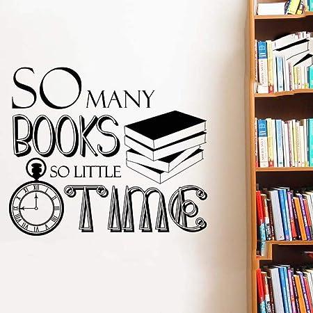 wukongsun Decoración librería tantos Libros Tan Poco Tiempo ...