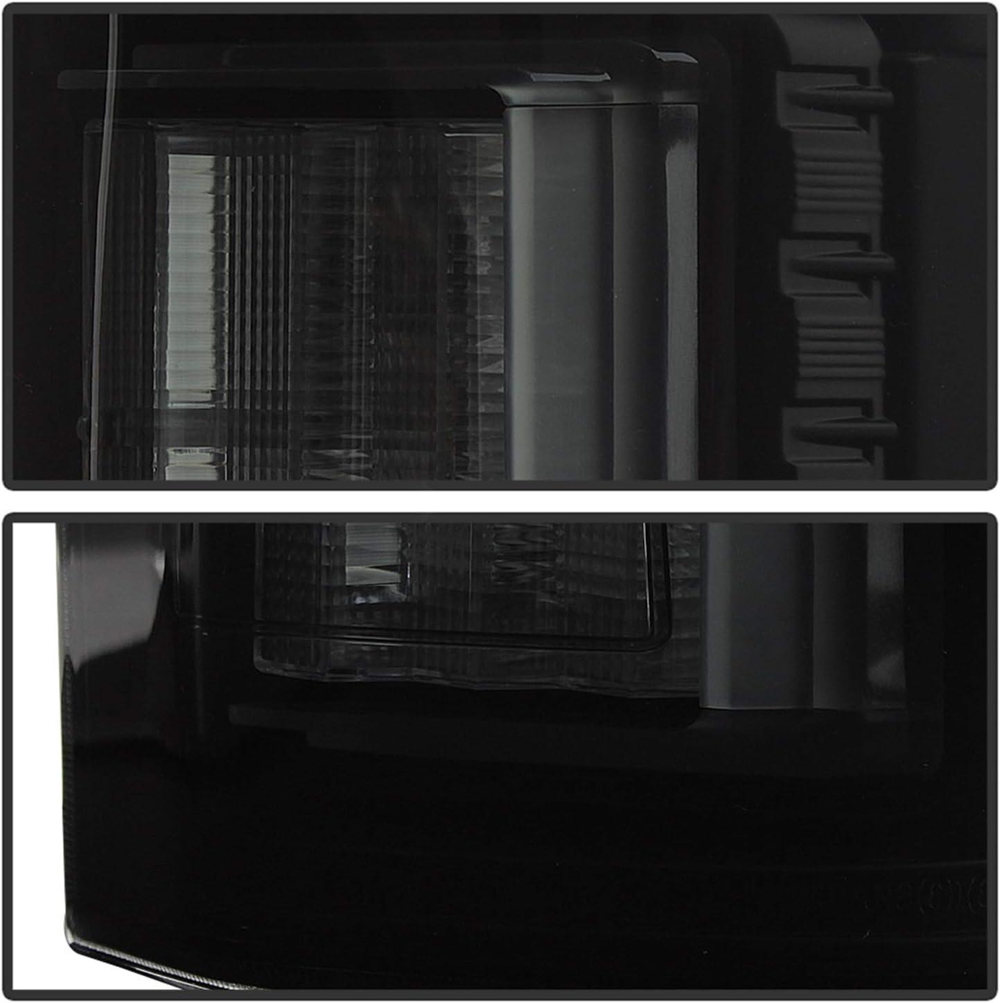 not compatible with rear blind spot sensor models Black Smoke Spyder 5085672 Ford F150 2018-2019 Light Bar LED Tail Lights