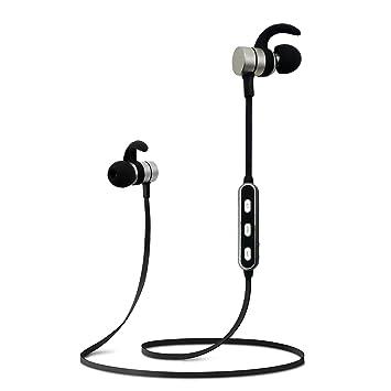 Audífonos Bluetooth 4.2 magnéticos inalámbricos Auriculares IPX 6 ...