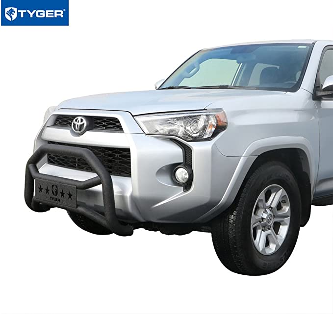 Angle SX Bumper Rear for Toyota 4 Runner 1989 on Chrome-Plated