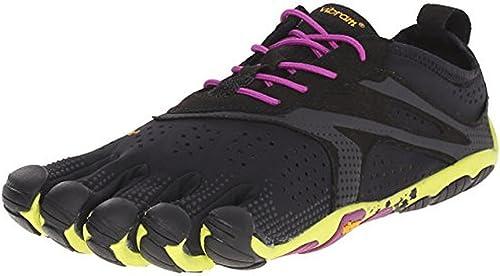 Vibram FiveFingers Women's V Run Barefoot Shoes and Premium Toesock Bundle