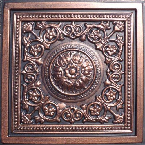 Majesty Antique Copper Black Ceiling