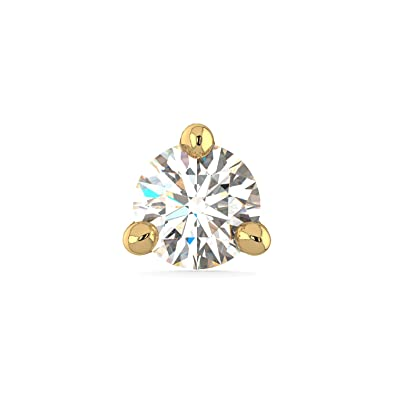 Buy Joyalukkas Pride Diamond Collection 22k Yellow Gold And Diamond Nose Pin At Amazon In