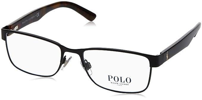 Polo Polo PH1157 Eyeglass Frames 9038-53 - Matte Black PH1157-9038 ...