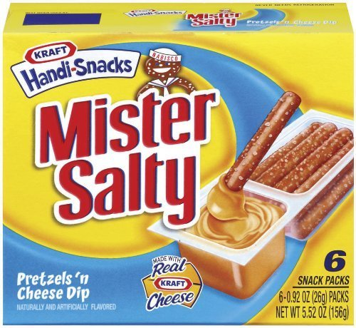 (Nabisco, Handi Snacks, Mister Salty Pretzels and Cheese, 5.52oz Box (Pack of 4))
