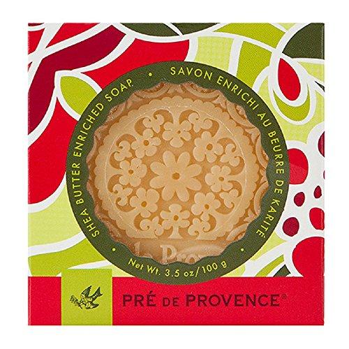 Pre de Provence, Savon de Fete Shea Butter Soap (100g), 'Tis the Season