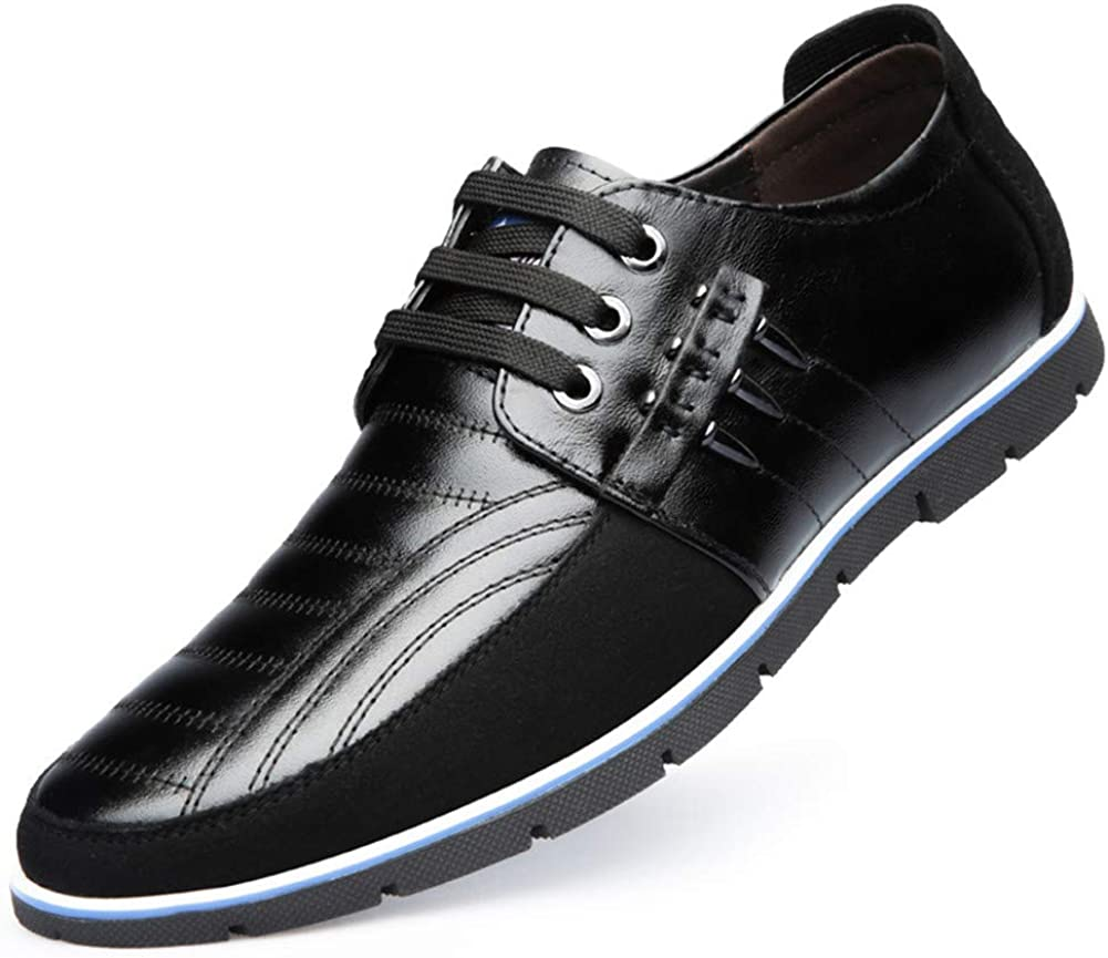Mens Driving Moccasin Brogue Leather