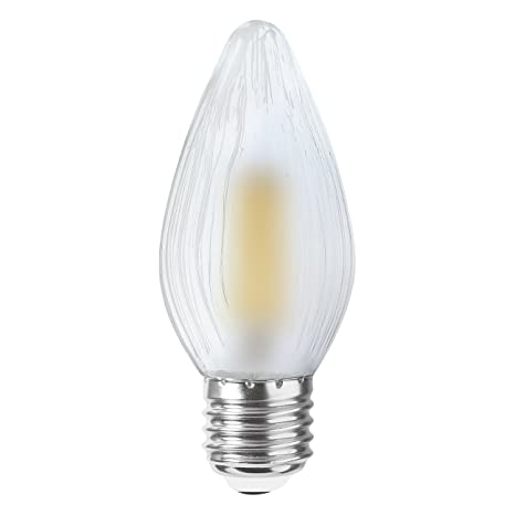 LightED Antorcha Bombilla LED E27, 4 W, 47 x 113 mm