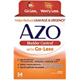 AZO Bladder Control® with Go-Less Daily Supplement | Helps Reduce Occasional Urgency* | Helps reduce occasional leakage…