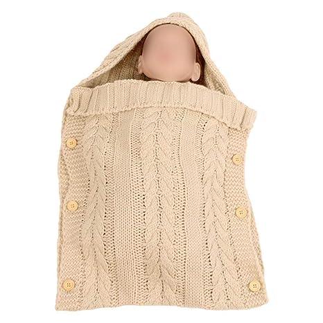 Xinvision Saco de Dormir de Punto para Recién Nacido - Manta ...