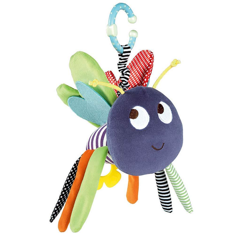 hou zhi liang Animal Bee Handbells oder Bett Bells f/ür Baby gef/üllte Spielzeug Kinder Puppen 1PC