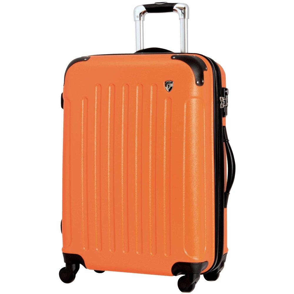 [グリフィンランド]_Griffinland TSAロック搭載 スーツケース 超軽量 マット加工 newFK10371 ファスナー開閉式 B00J3E4SV6 SS型|オレンジ オレンジ SS型