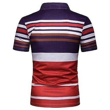 OPAKY Casual Polos Escote Camiseta Camisas Verano Primavera ...
