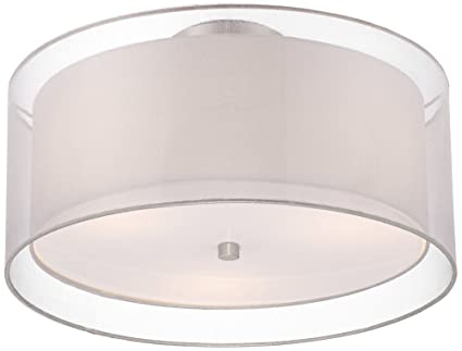 euro design lighting. possini euro design double drum 18u0026quot wide white ceiling light lighting
