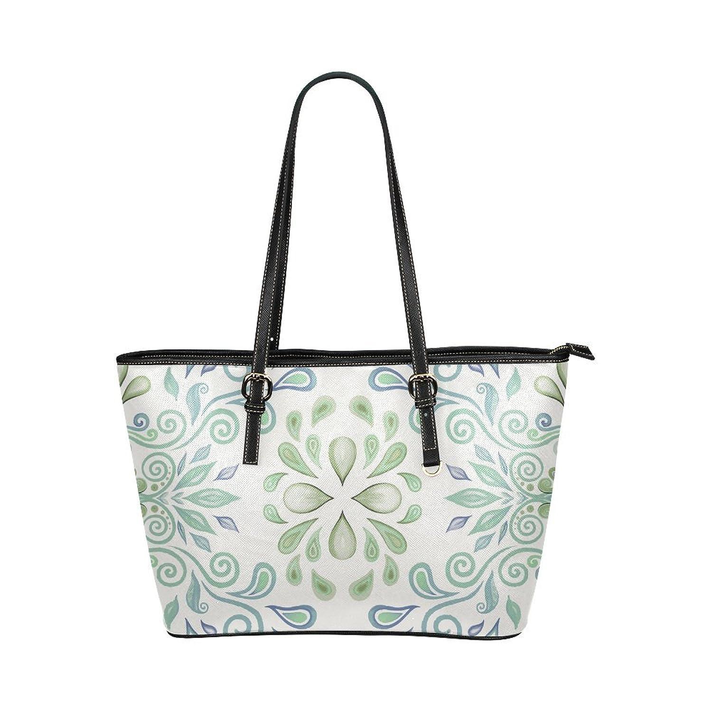 Nicedesigned Tote Bag Watercolor Leather Tote Shoulder Bag Handbag for Women Girls