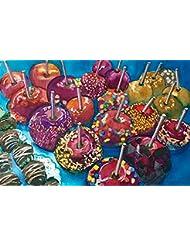 Candy Crush Caramel Apples