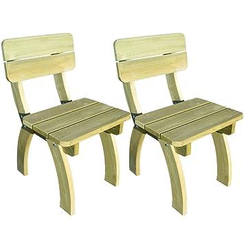 Luckyfu - Sillas de diseño Moderno para Exteriores, sillas ...