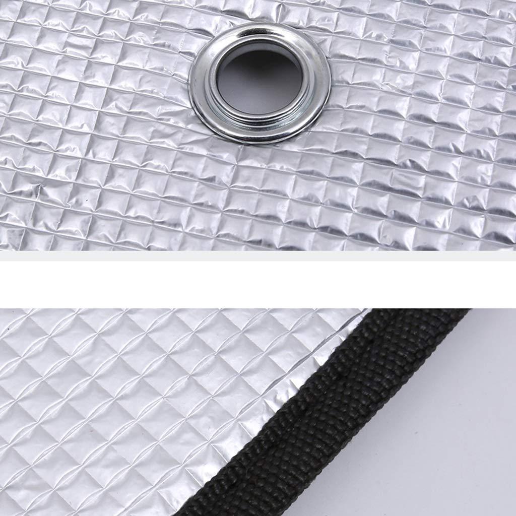 Color : A GXju-Car supplies Parasol del Coche,autom/óvil Parasol de la Ventana Parasol de Aluminio Papel de Aluminio Resistencia a la Temperatura Alta Cubierta de la sombrilla