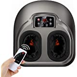 Foot Massage AREALER Kneading Shiatsu Therapy Feet Massage Machine with Deep-Kneading, Built-in Heat Function, Air Compression, Perfect for Home Office