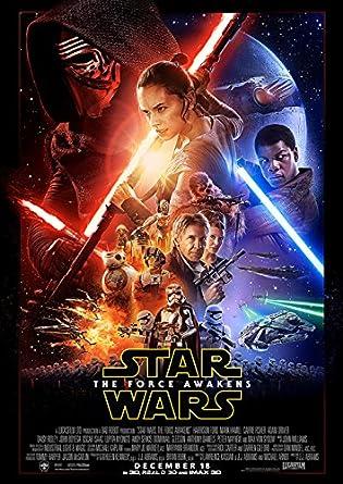 映画 スターウォーズ フォースの覚醒 ポスター 42x30cm STAR WARS エピソード7 [並行輸入品