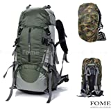Backpack Rain Cover,FOME Nylon Backpack Rain Cover for Hiking / Camping / Traveling + A FOME Gift