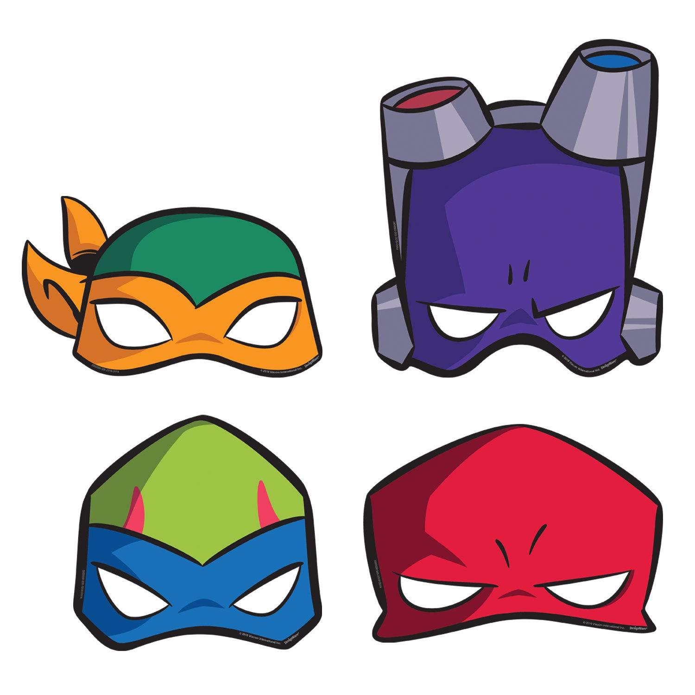 Amscan International Amscan 3600000 - Juego de 8 máscaras ...