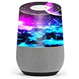Skin Decal Vinyl Wrap for Google Home stickers skins cover / Galaxy Fluorescent