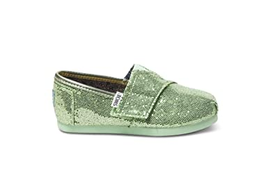 e545902e0c11 Amazon.com | Toms Mint Tiny Classics Baby Girls Shoes 007013D13-MINT ...