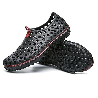 Men's Beach Shoes Summer Men's Mesh Sandal Non-Slip Super Soft Lightweight for Home Garden Outdoor Sports Walking Hiking