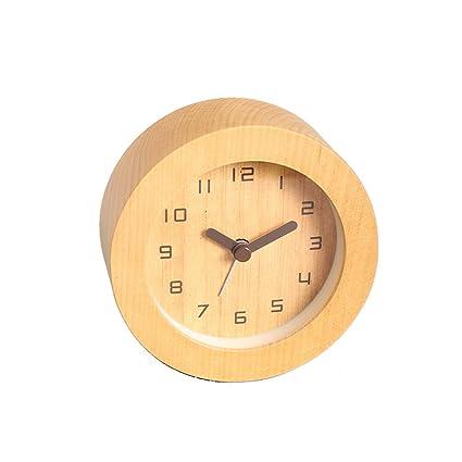 2018 Nuevo despertador LED creativo Silencio Luminoso Reloj electrónico Reloj digital Niños Moderno Lindo Reloj despertador