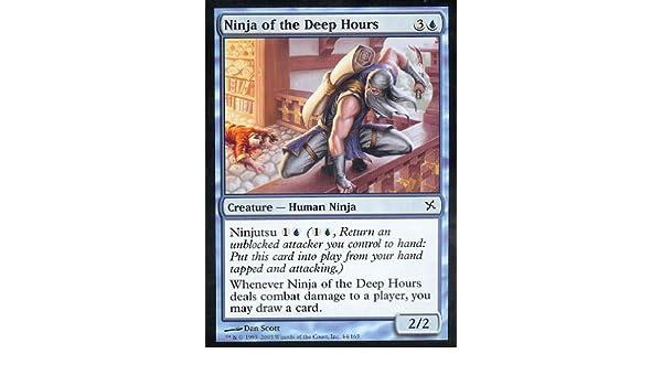 Amazon.com: Magic: the Gathering - Ninja of the Deep Hours ...