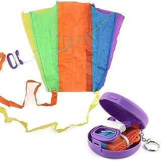 Pieghevole Portatile Kid Kite Toy con Mini Storage Box Outdoor Sport Regali per Bambini Ragazzi e Ragazze