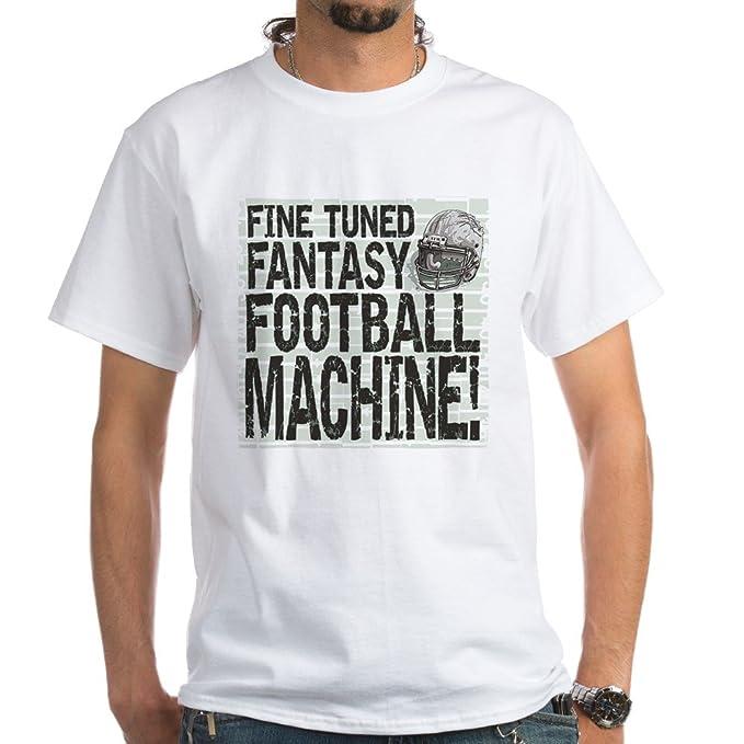 31128c8624 Amazon.com: CafePress Fantasy Football Machine Cotton T-Shirt: Clothing