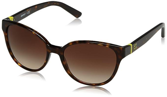 DKNY Damen Sonnenbrille » DY4117«, braun, 301613 - braun/braun