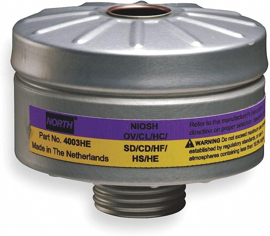 North HEPA Reusable Respirator Combination Cartridge/Filter - NORTH 4003HE [PRICE is per BOX]