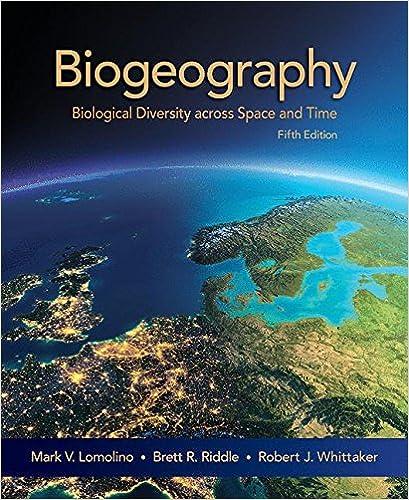 Biogeography 4th Edition Lomolino Pdf Download