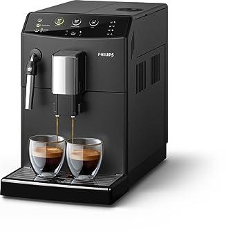 Philips HD8827/09 Máquina Espresso, 1850 W, 1.8 litros, De plástico, Acero Inoxidable, Negro: Amazon.es: Hogar