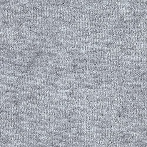 Cotton Velour Fabric - Mike Cannety Textiles Solid Velour Grey Heather Fabric by The Yard,