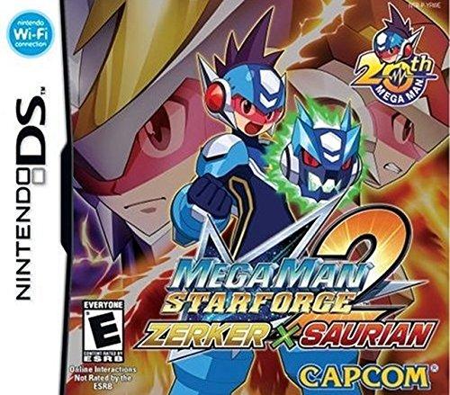 Mega Man Star Force 2 Zerker X Saurian - Nintendo DS