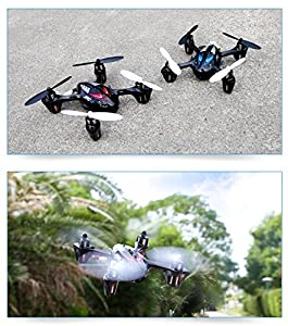 Drone with Camera - H6 Quadcopter RC Helicopter for sale (2nd Gen) - Stable Flight, Easy to Fly, HD 2MP 720p Aerial Photo Video, Headless Mode [USA Warranty + Tech Support] by KiiToys