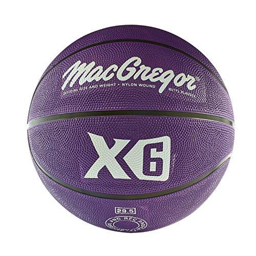 MACGREGOR Multicolor Basketball, Purple -  Sport Supply Group, Inc., MCBBX616
