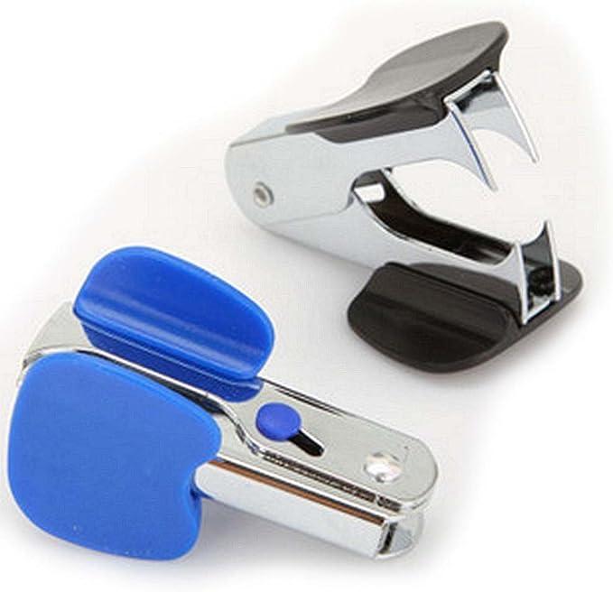DAYAN Bureau de l/école de papeterie Portable /Ôte-Agrafes Staple Remover Supprime couleur al/éatoire