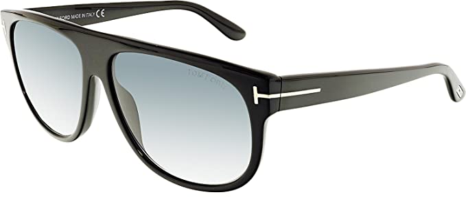 cecf9405191 Amazon.com  Tom Ford 02N Black Kristen - Black Sunglasses  Tom Ford ...