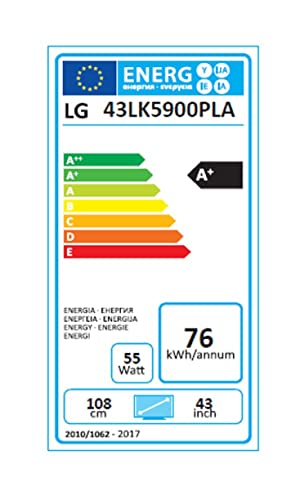 Pantalla TFT - LCD 43LK5900PLA LG: Lg: Amazon.es: Electrónica