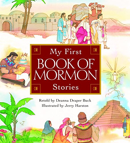 My First Book of Mormon Stories by Brand: Deseret Book Co (Image #1)